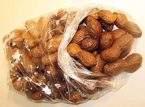 lb. bag of Alicia's Boiled Peanuts