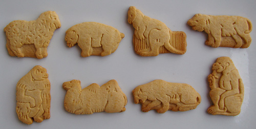Barnum's Animals® Crackers: (top row) Sheep, Polar Bear, Kangaroo ...