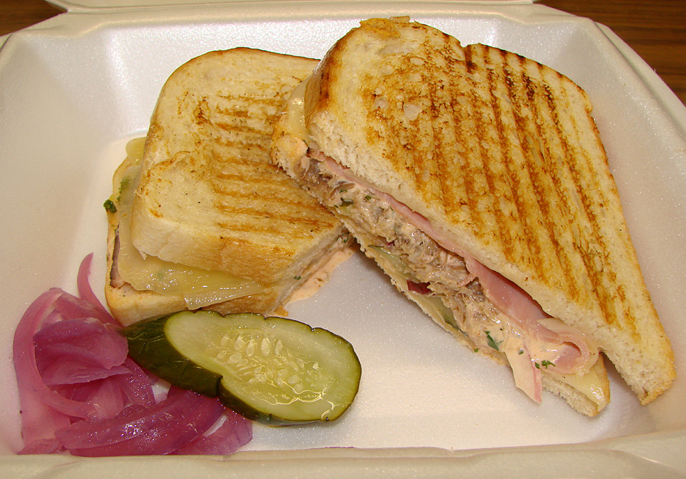 Eat Catering & Cafe – Cuban Panini: Ham, Kalua Pork, Chili Aioli ...