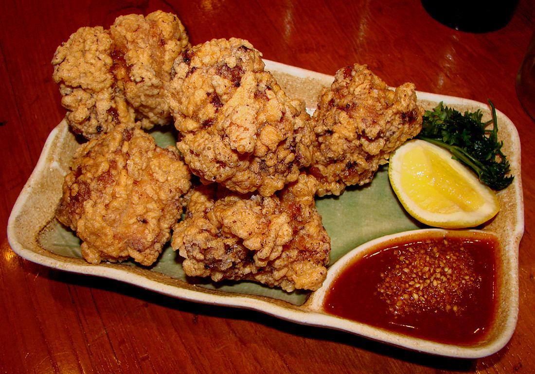 Goma Tei Tatsutaage Chicken