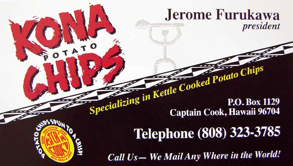 Kitchen Cooked Potato Chips Maui - Kitchen Cabinets