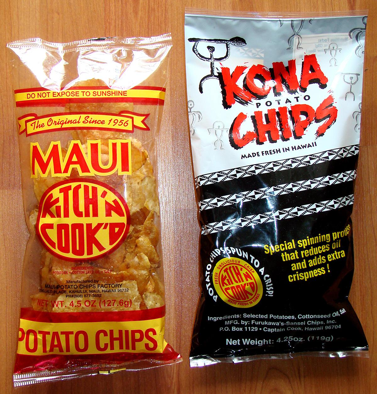 Kona Potato Chips… Now Available at Manoa Longs! | Pomai Test Blog