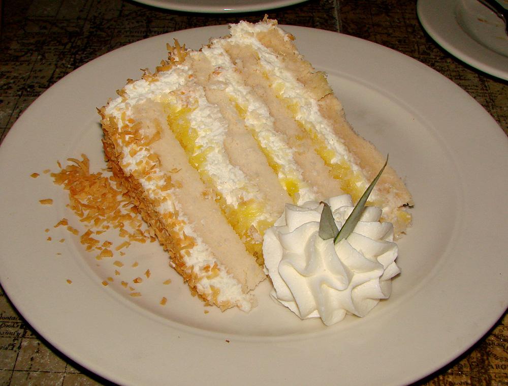 Pina Colada Cake The pina colada cake