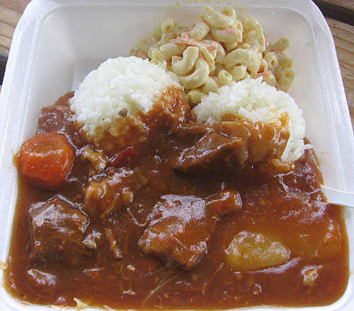 Meg's Drive-In famous Beef Stew