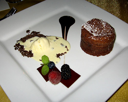 recipe molten chocolate cake