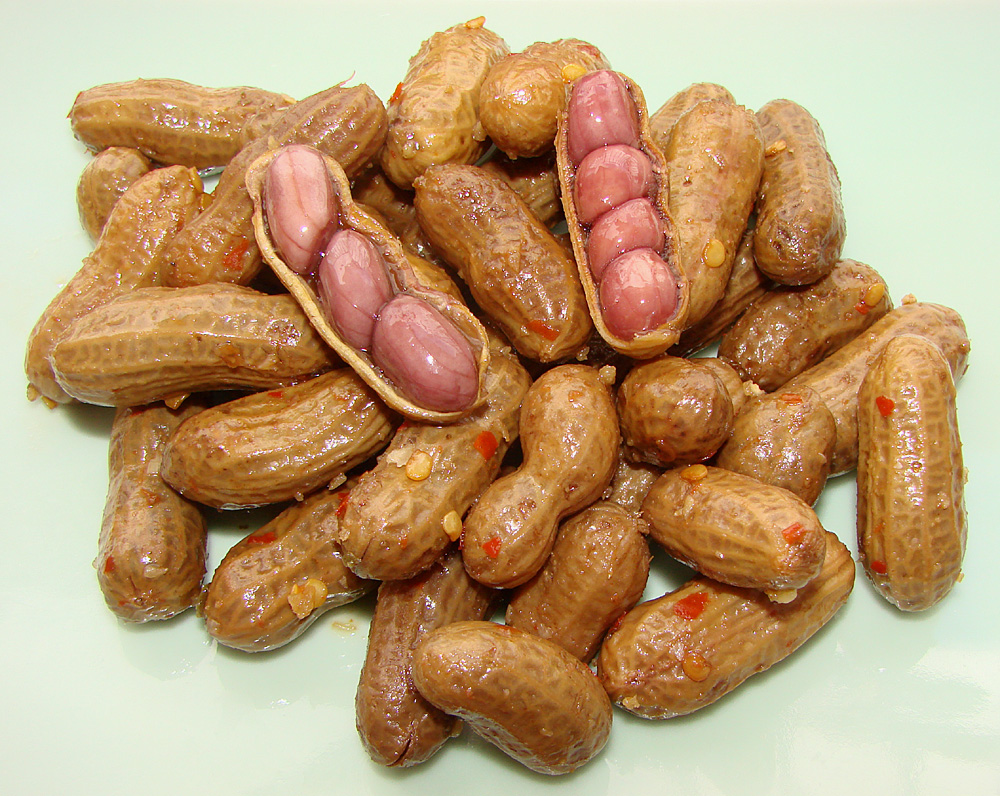 Pat's Spicy Garlic Boiled Peanuts | Pomai Test Blog