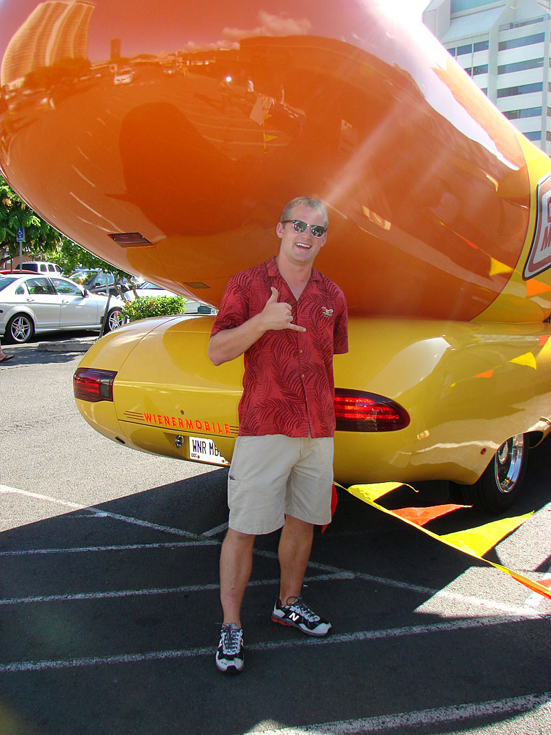 Wienermobile Cruises Oahu on oscar mayer wienermobile specs