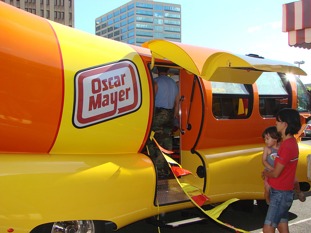 Car Review Hydrogen Powered Toyota 10248353 moreover Oh Id Love To Be Oscar Mayer Wiener further Article further Fun Learning Henry Ford Museum besides The New Prototype Wienermobile Built On The Mini Cooper S Frame. on oscar mayer wienermobile seats