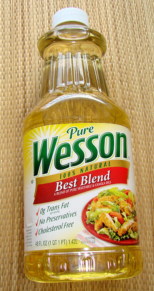 Wesson cooking oil - not so pure and natural?