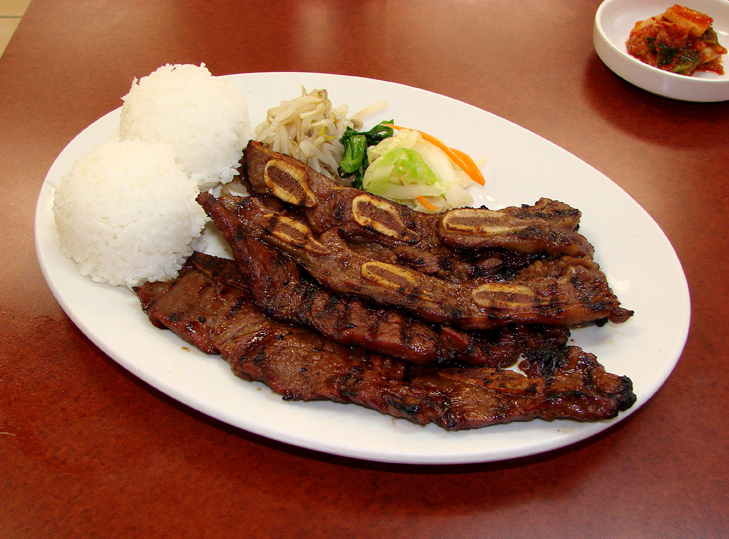 Kalbi Ribs With Macadamia Nut Rice Recipes — Dishmaps