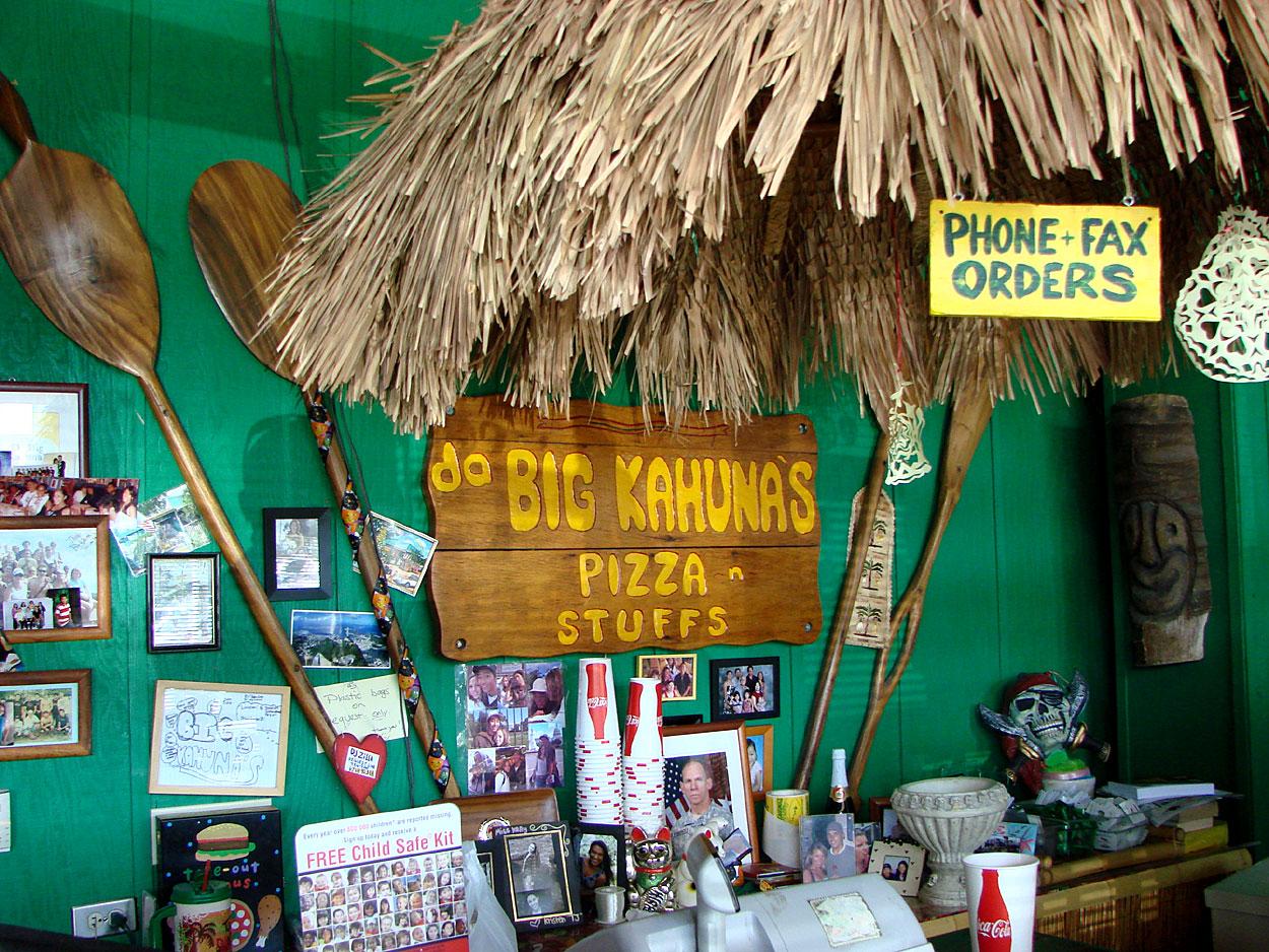 airport eats: big kahuna's pizza 'n stuffs | pomai test blog