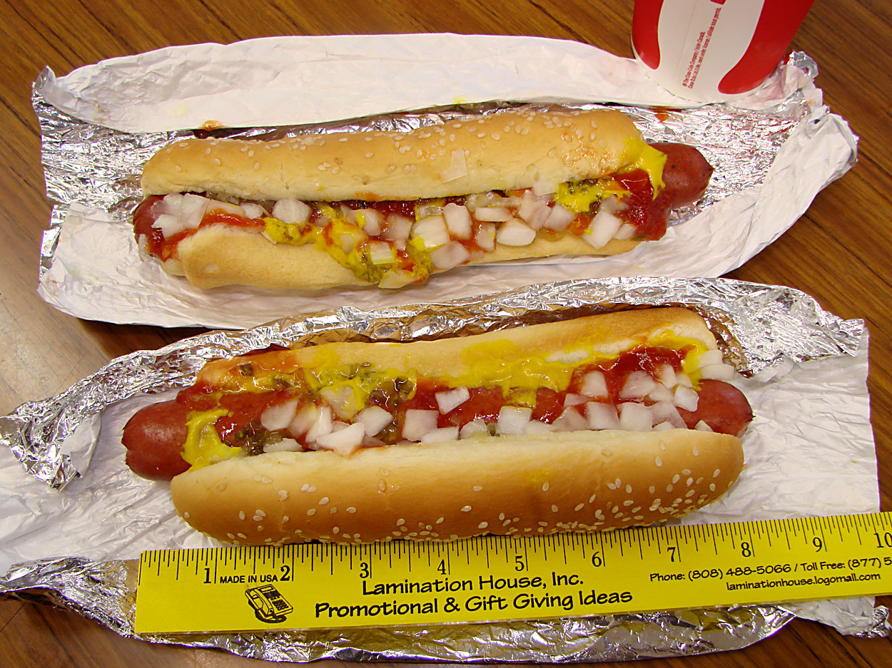 Polish Hot Dog Calories