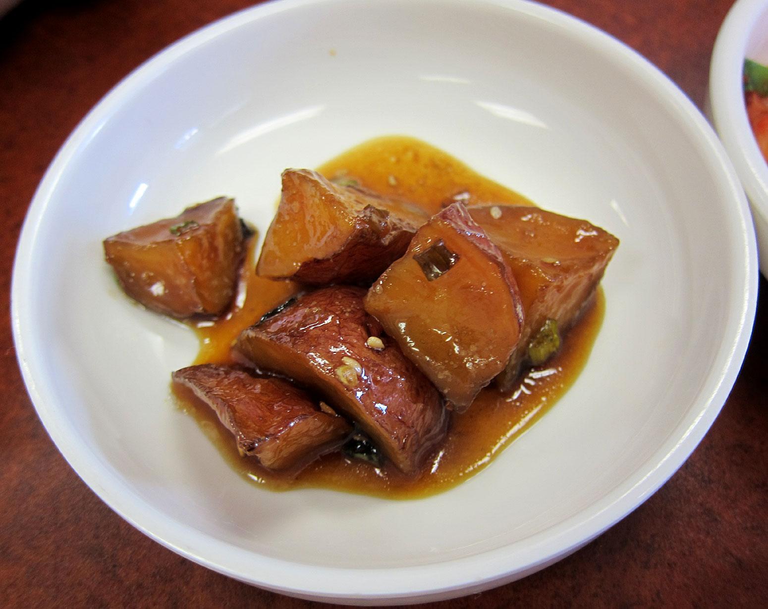Arirang Korean style Potato Banchan