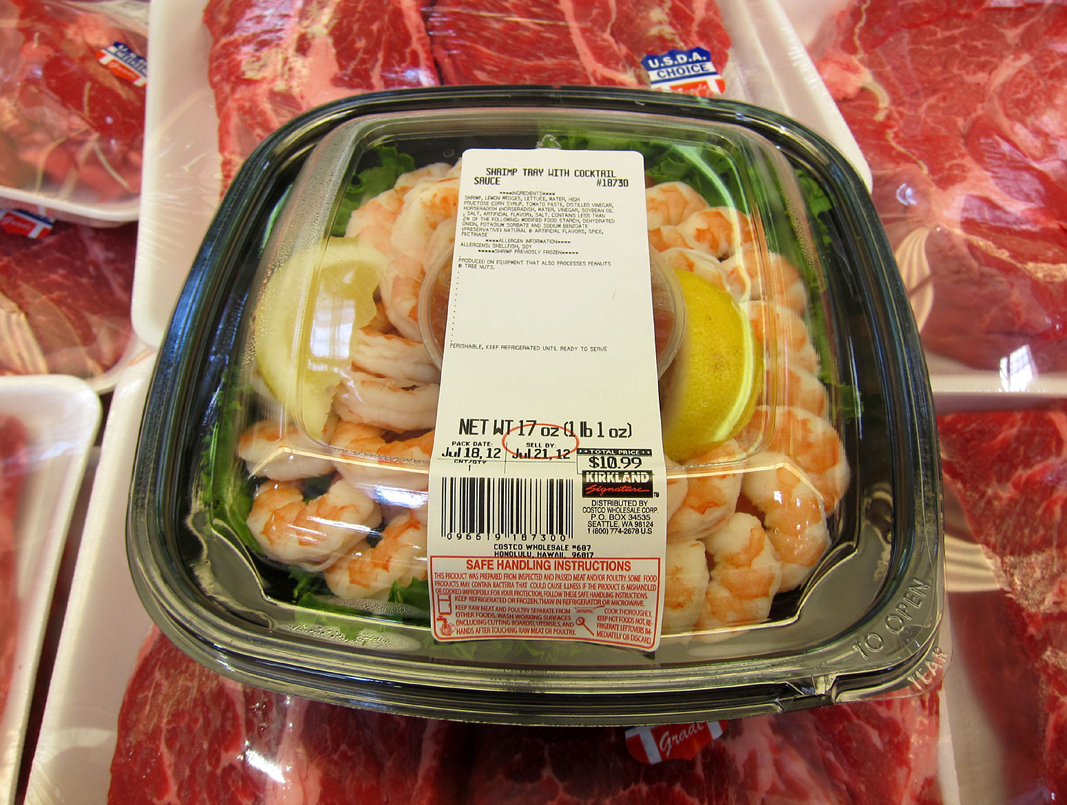 Costco food platters prices for pinterest