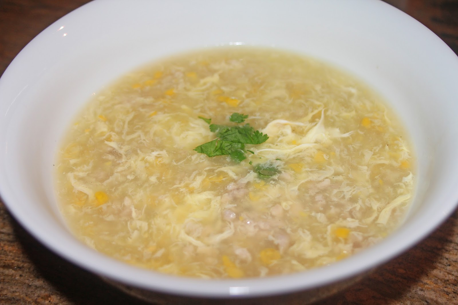 Chinese Egg Drop Soup. Image courtesy of The Grub Files blog .