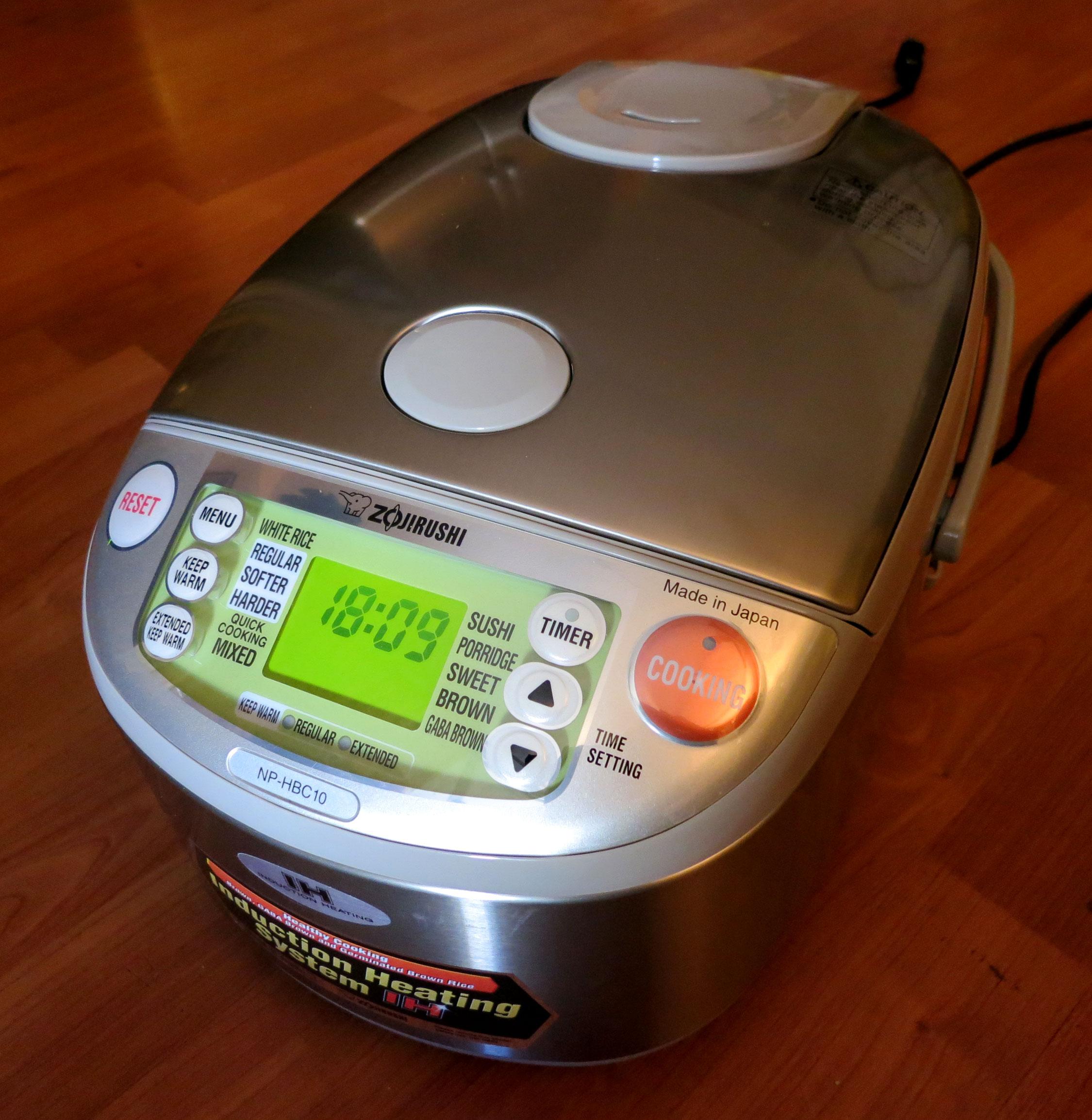 Review: Zojirushi Induction Heat Rice Cooker
