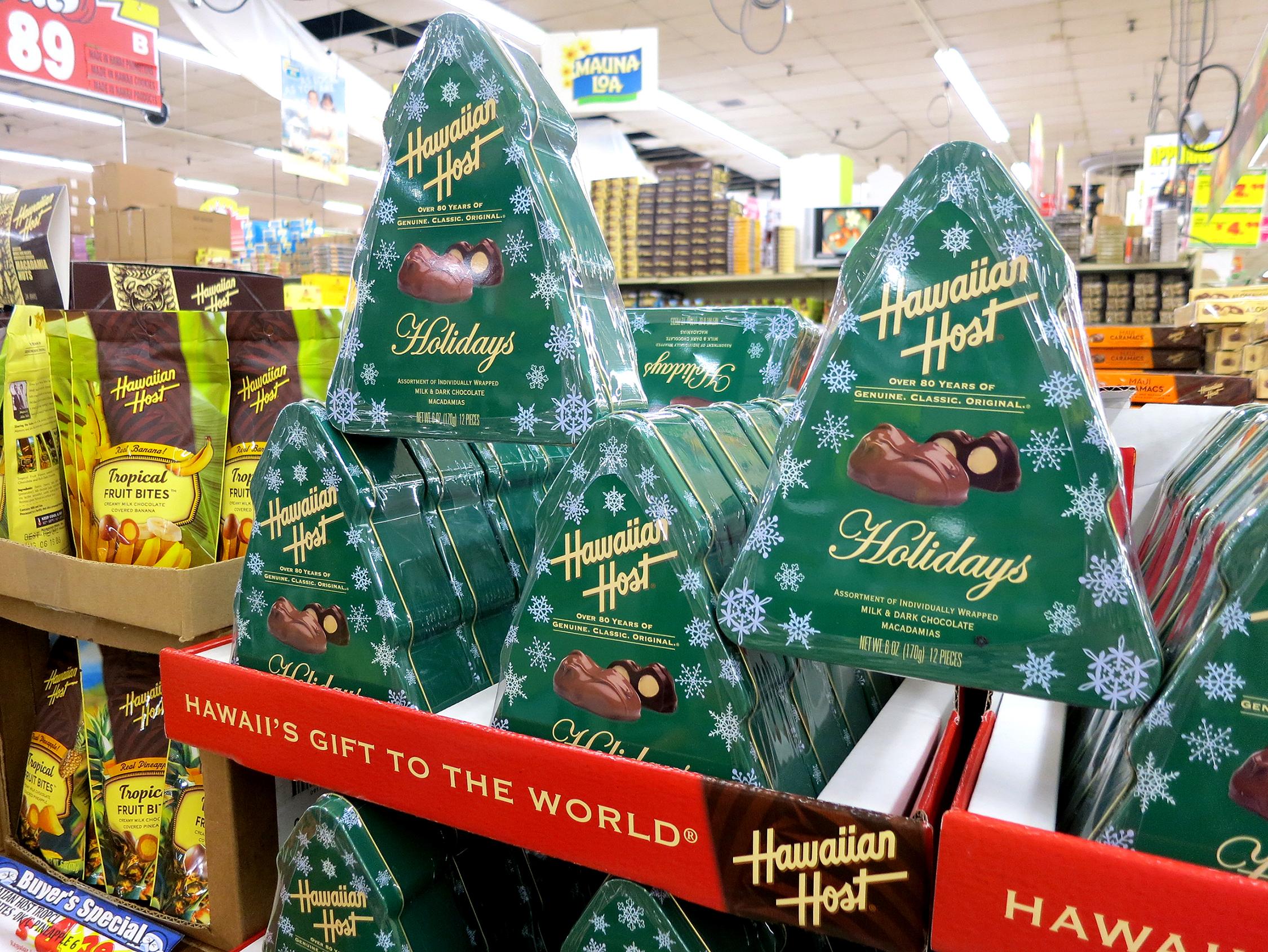 Holiday Tin Hawaiian Host