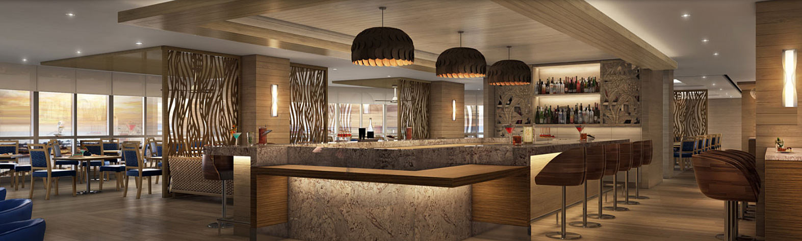 Prince court reopens as 100 sails restaurant bar tasty for 100 floors 3rd floor
