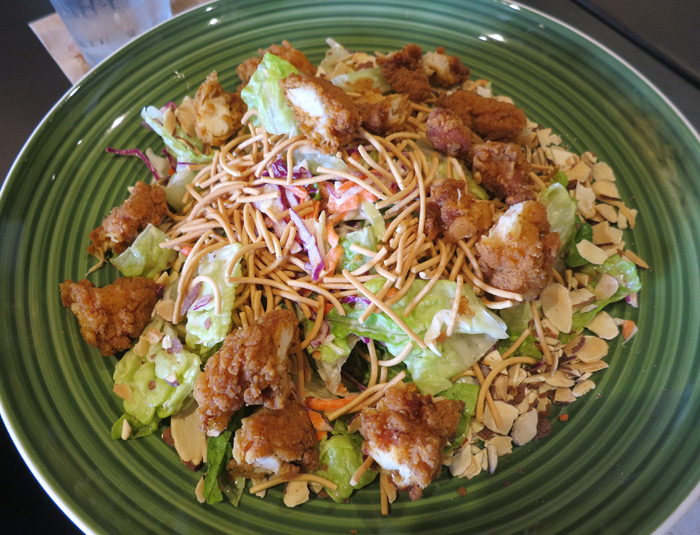 Asian Chicken Salad With A Crunch Recipe — Dishmaps