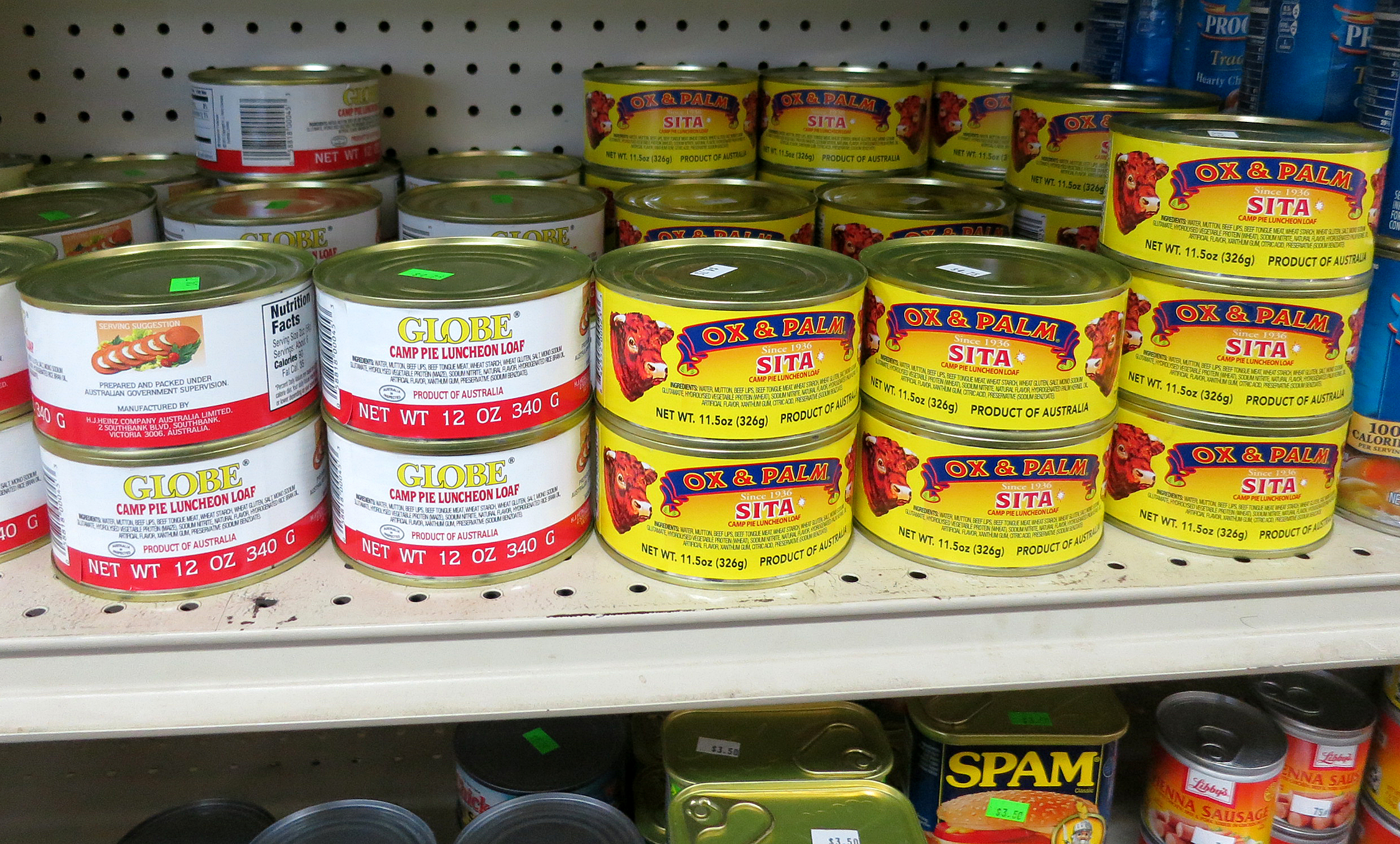 Thought Minnesota's own Hormel SPAM® was the quintessential mystery ...
