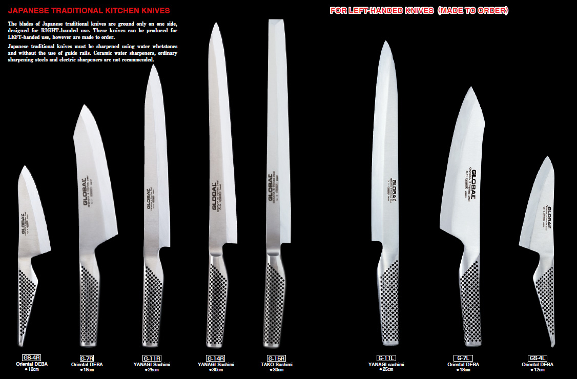 samurai sword kitchen global knives tasty island following is just a portion of the global knives catalog where you ll see exactly what i m talking about how they have one for every unique kitchen task