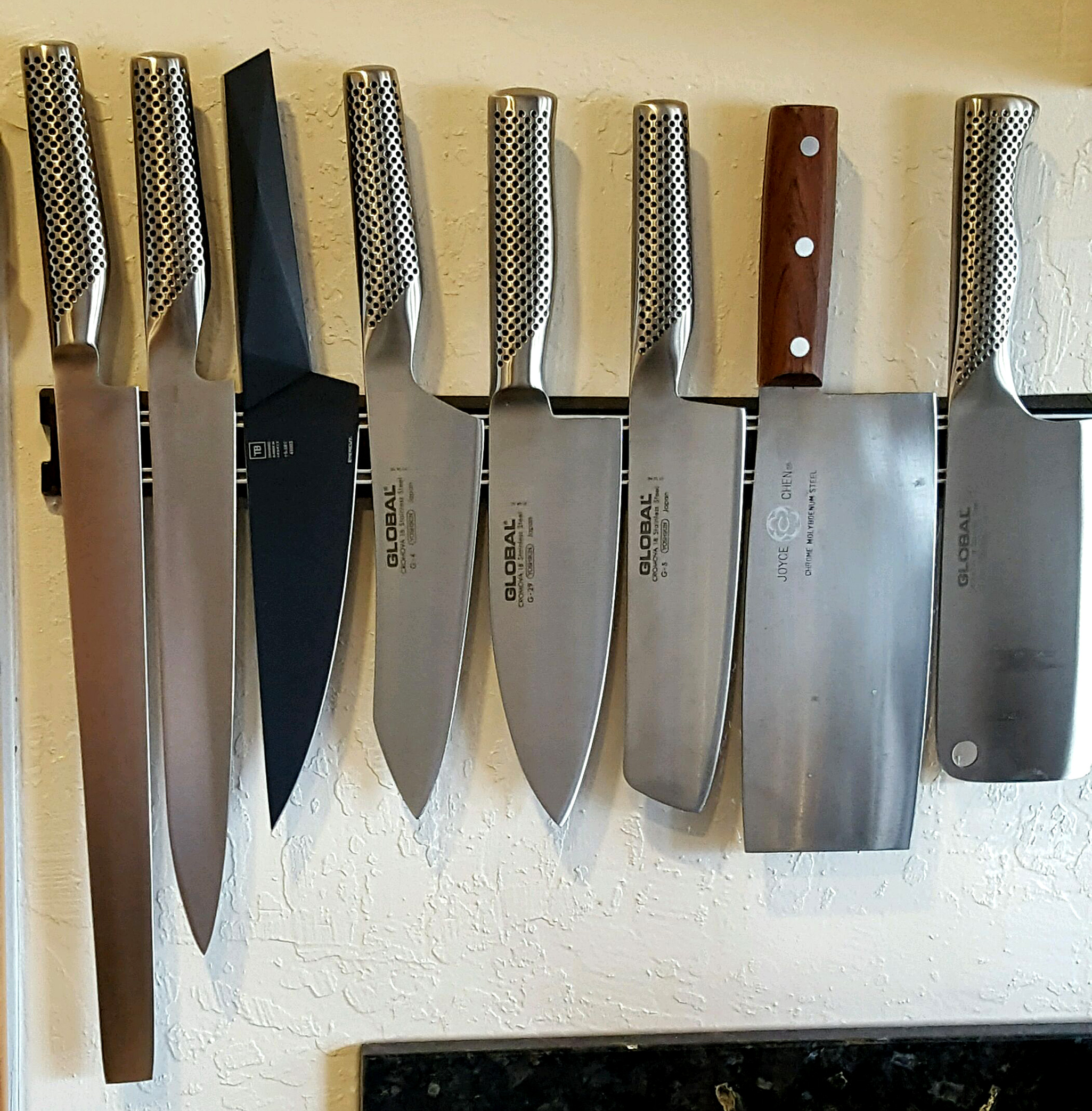 samurai sword kitchen global knives tasty island