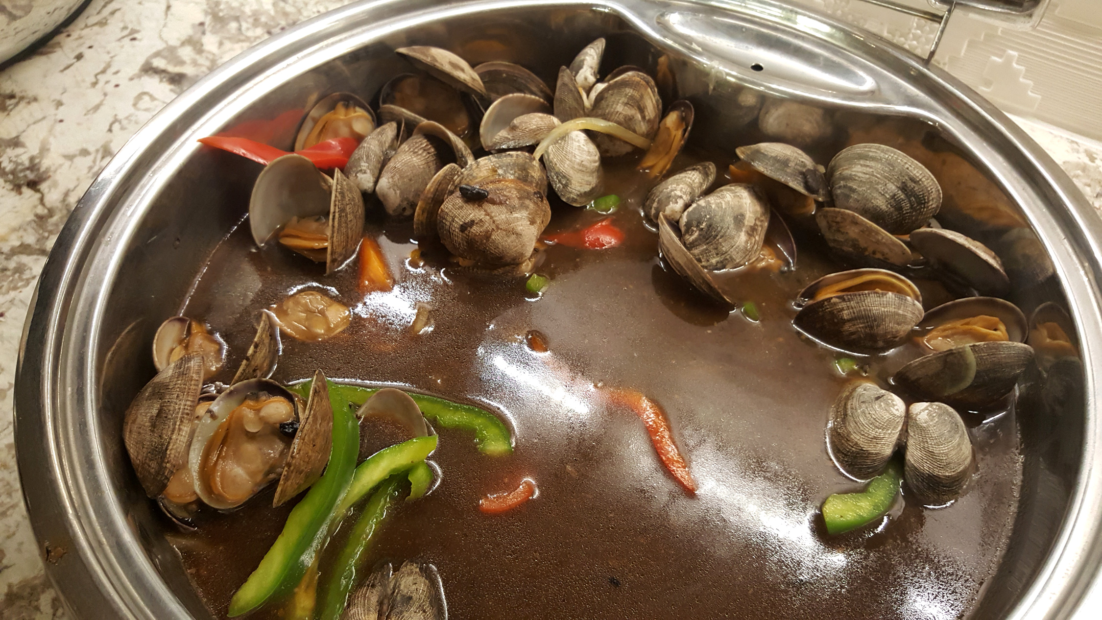 Steamed Clams with Black Bean Sauce