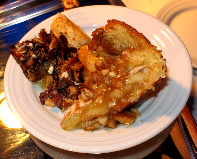 Baked Brie with Brown Sugar and Mac Nuts and Shiitake Mushroom and ...
