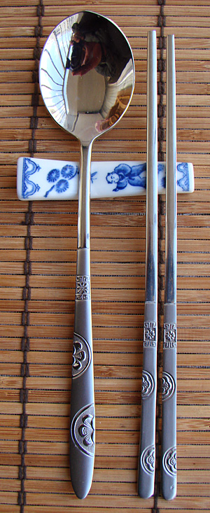 Metal and Stainless Steel Chopsticks, Korean Style Chopsticks